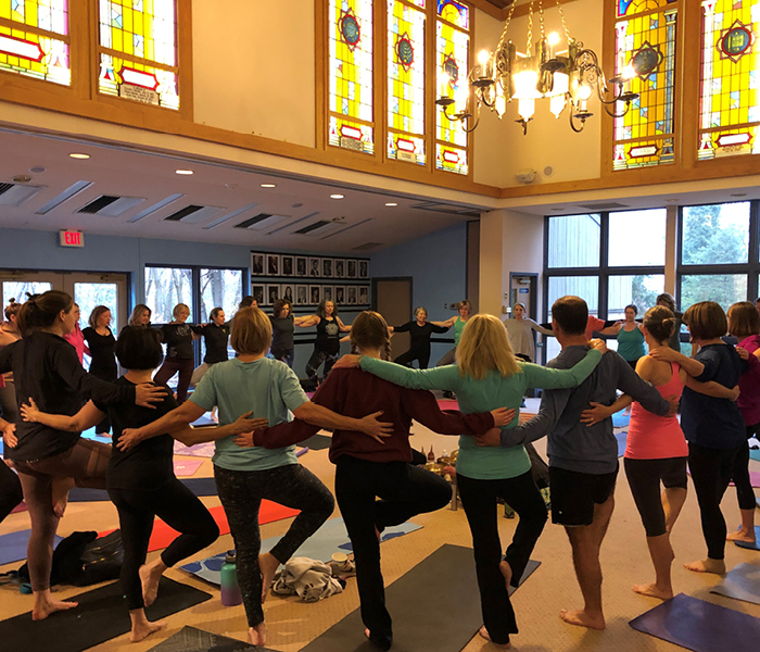 IHN of the Mail Line helping homeless families Yoga