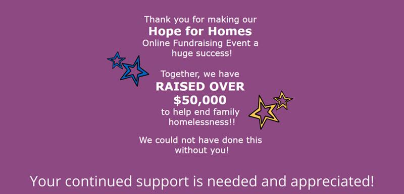 hope for homeless